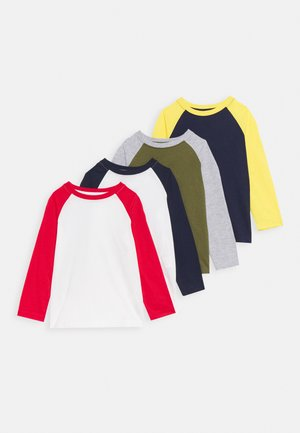 4 PACK - Long sleeved top - melange
