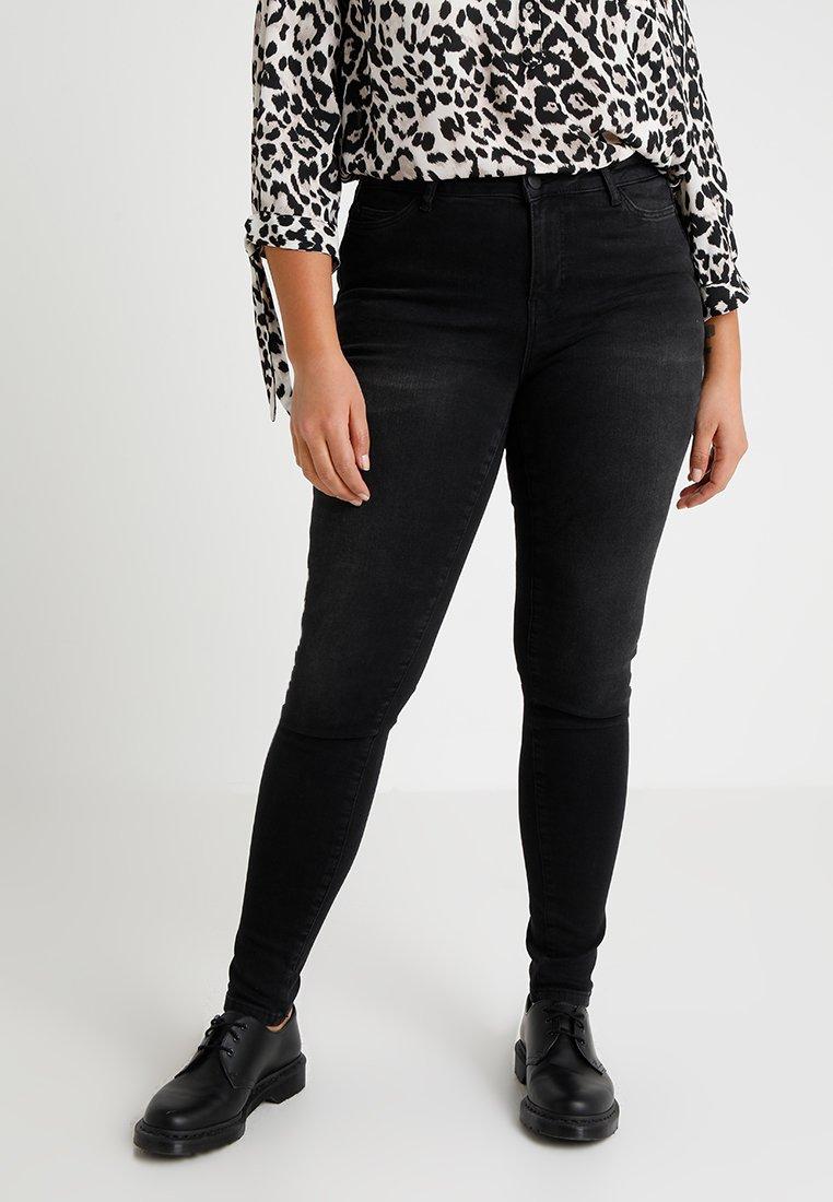 JUNAROSE - by VERO MODA - JRFIVE SHAPE - Jeans Skinny Fit - dark grey denim