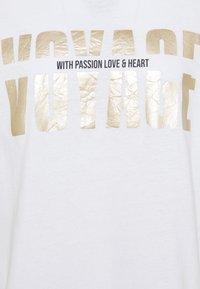 Mos Mosh - MEX TEE - Print T-shirt - white - 2