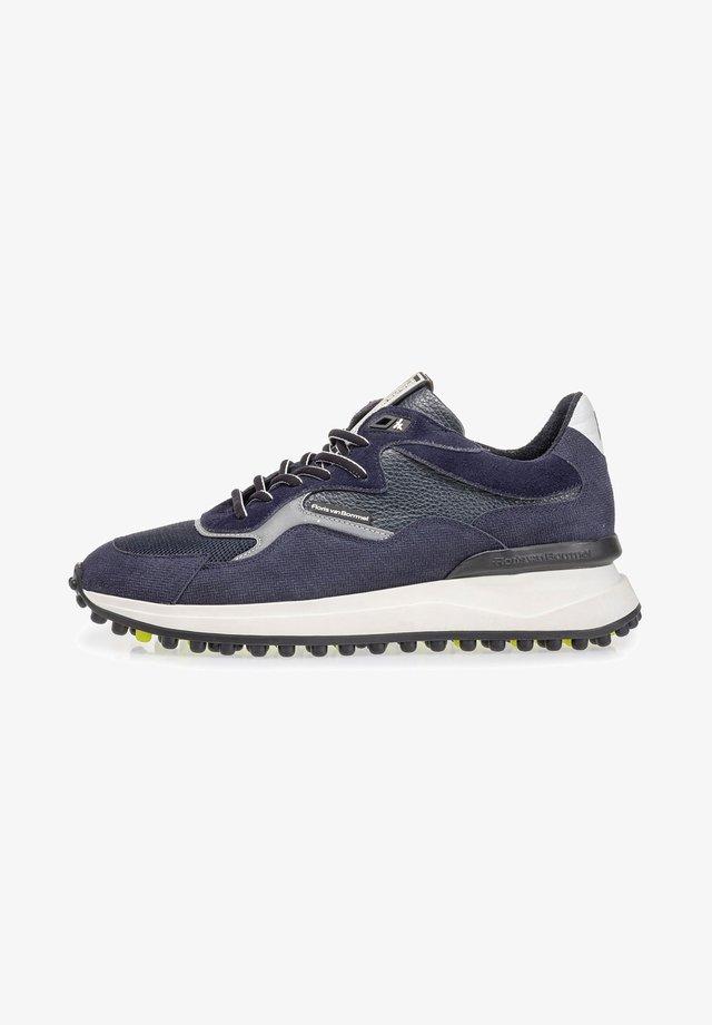 NOPPI VAN LEER - Sneakers laag - darkblue