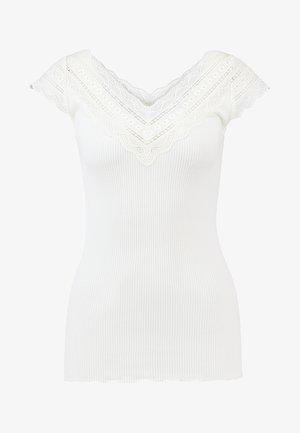 REGULAR WIDE - T-shirt imprimé - ivory
