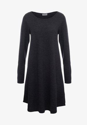 Gebreide jurk - dark grey