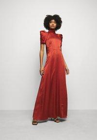 Temperley London - ANITA GOWN - Occasion wear - dark amber - 0