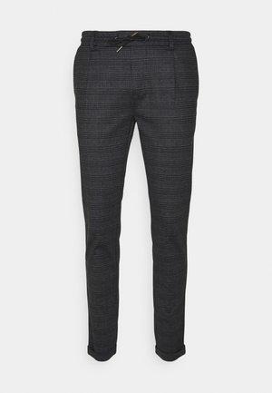 EBERLEIN WITH ROLLED UP - Spodnie materiałowe - macan grey