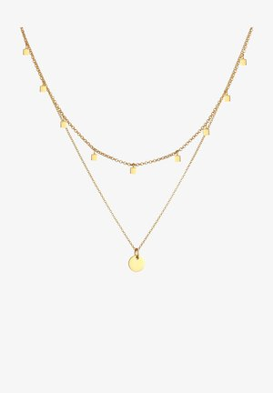 CHOKER PLATES - Necklace - gold-coloured