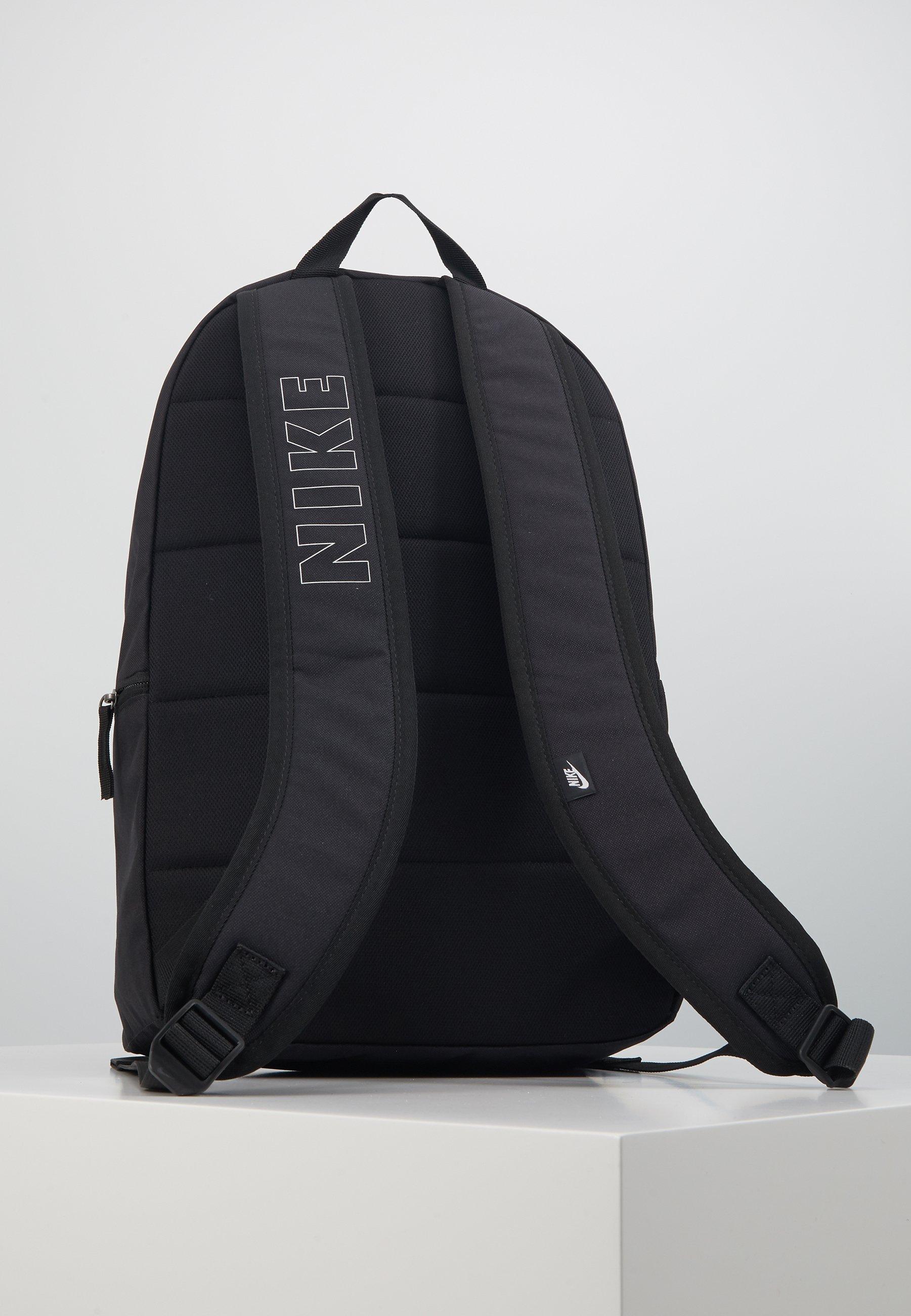 Nike Sportswear AIR HERITAGE - Ryggsekk - black/white/svart EDVw1KVGbgfqSC8