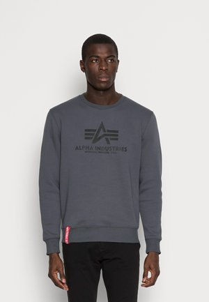 BASIC - Bluza - greyblack/black