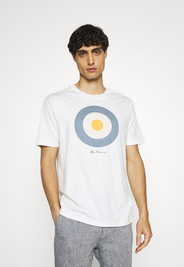 TARGET TEE - T-shirt con stampa - ivory