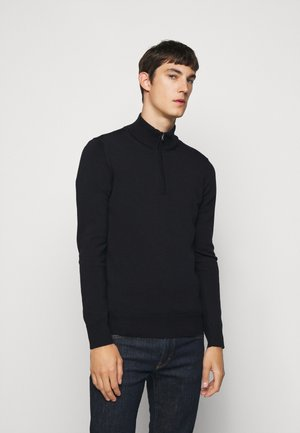 LANE QUATER ZIP - Jumper - navy