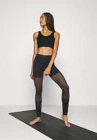 South Beach - SEAMLESS GRADUAL - Leggings - black