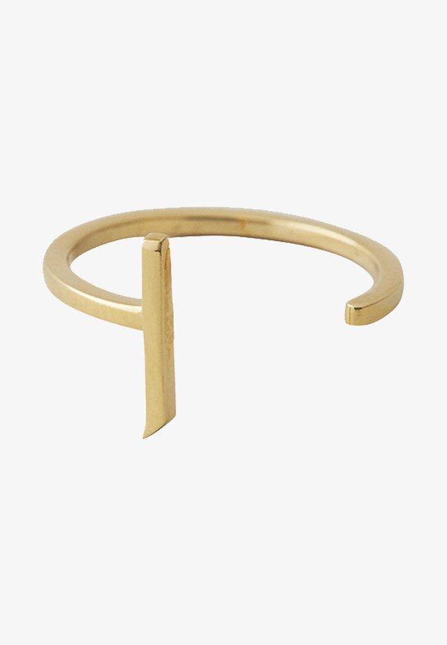RING J - Bague - gold