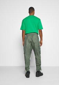 Jordan - PANT - Trousers - spiral sage/white - 2
