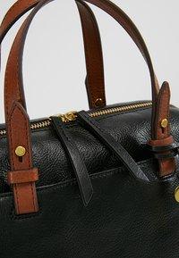 Fossil - RACHEL SATCHEL - Handtasche - black - 5