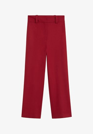 CANAS-I - Trousers - grenat