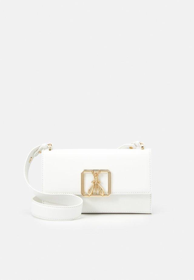BORSA - Schoudertas - white\gold-coloured