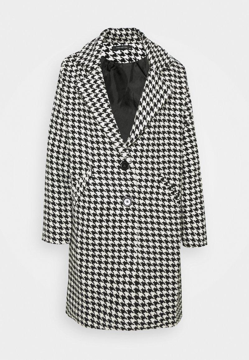 Trendyol - SIYAH - Classic coat - black