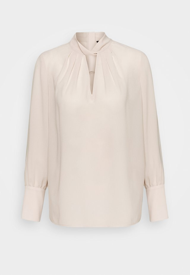 THELMA FANCY BLOUSE - Bluse - almond