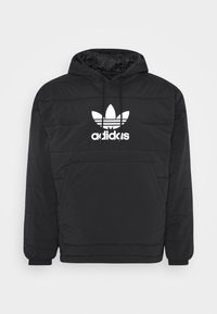 adidas Originals - HOODY UNISEX - Light jacket - black - 5