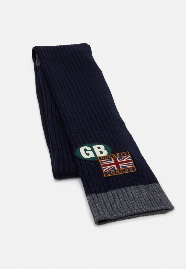 SCARF - Szal - navy/grey