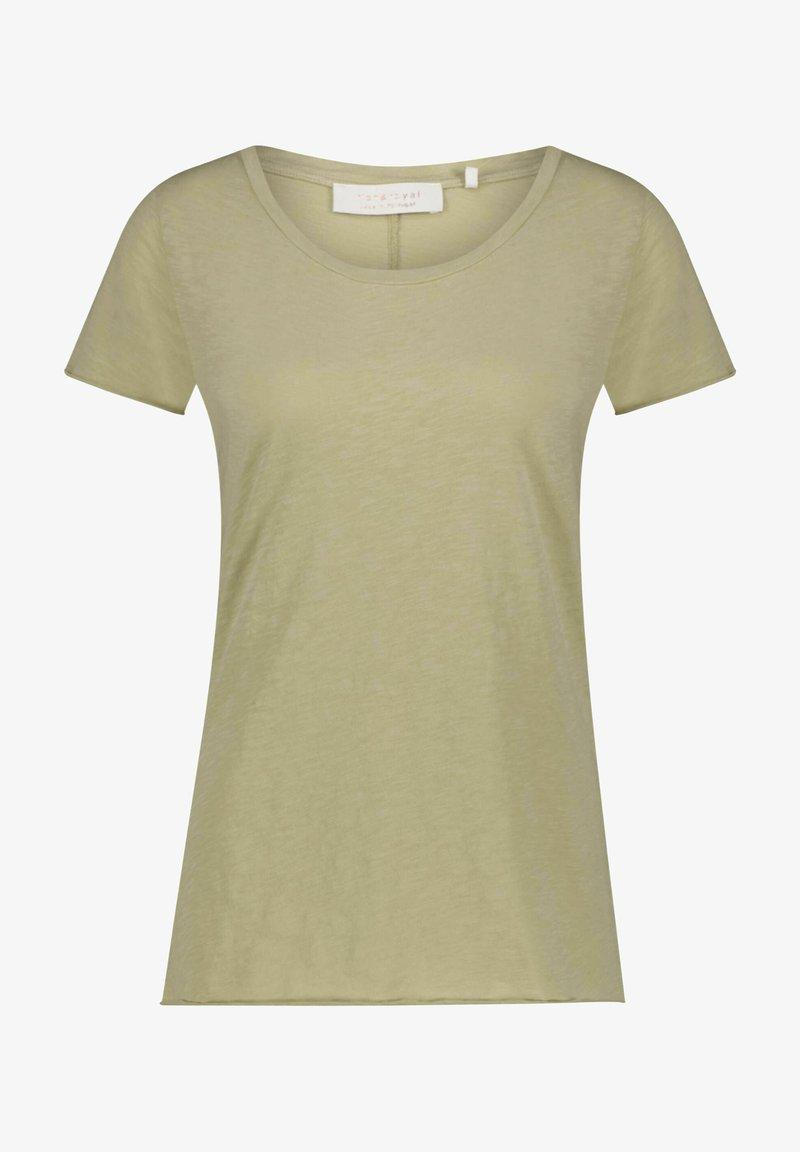 Rich & Royal - Basic T-shirt - oliv