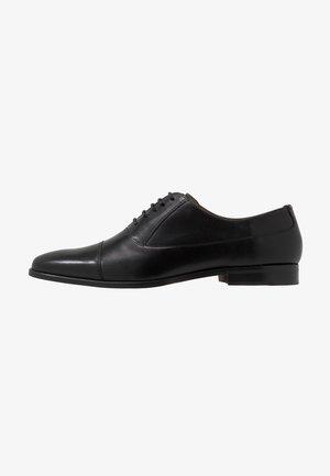 HOUSTON TOE CAP - Stringate eleganti - black