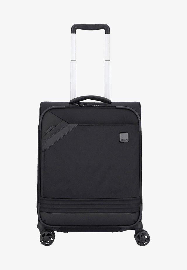 FOXX  - Wheeled suitcase - black silver