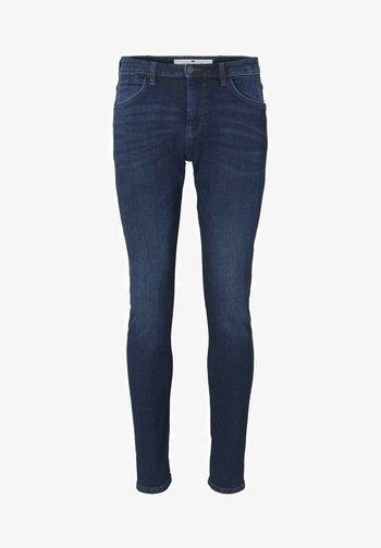 TROY  - Slim fit jeans - stone wash denim