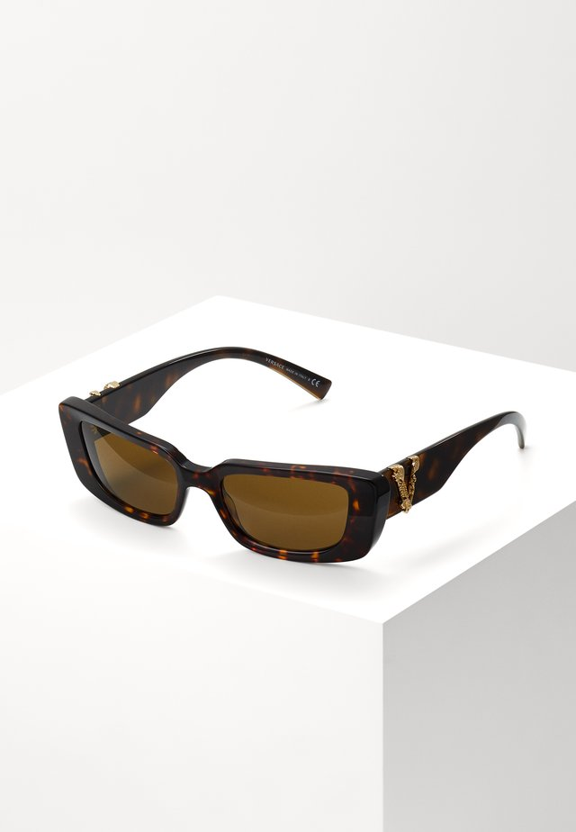 Solbriller - mottled brown/brown