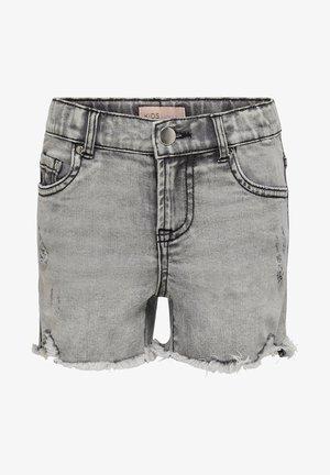 KONKIDS HW - Denim shorts - medium grey denim