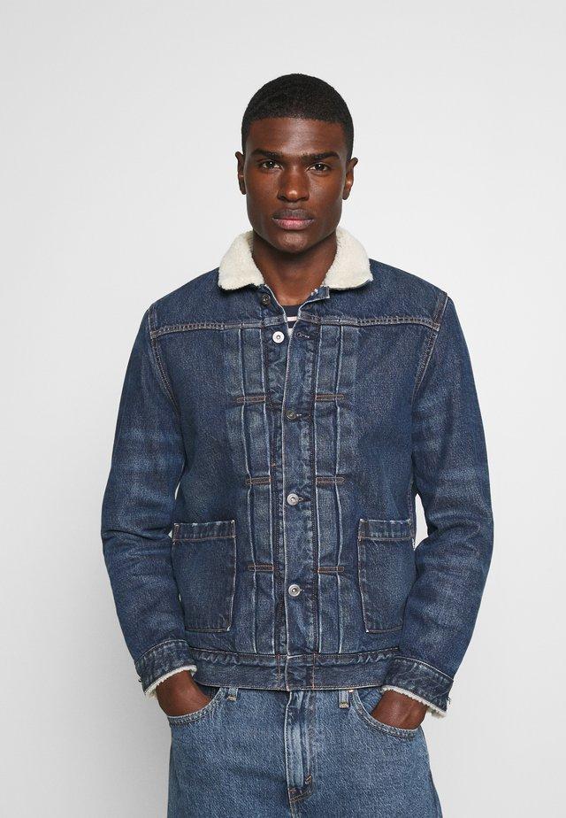 LMC TYPE TRUCKER - Veste en jean - blue