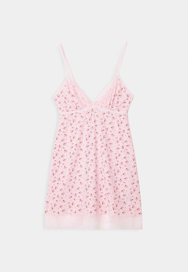 SLINKY NIGHTIE - Nattlinne - pretty pink
