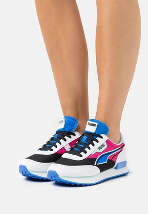FUTURE RIDER TWOFOLD - Trainers - white/black/bluemazing