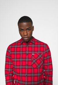 Tommy Jeans - PLAID - Skjorta - deep crimson/multi - 4