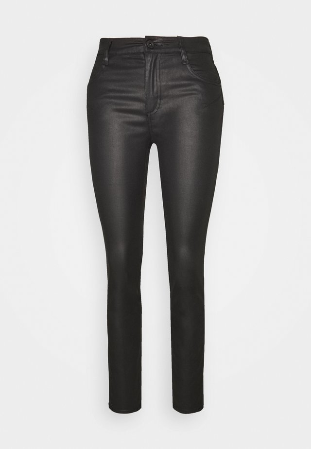 BETTIE - Trousers - black