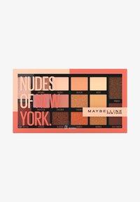 Maybelline New York - NUDES OF NEW YORK EYESHADOW PALETTE - Eyeshadow palette - - - 0