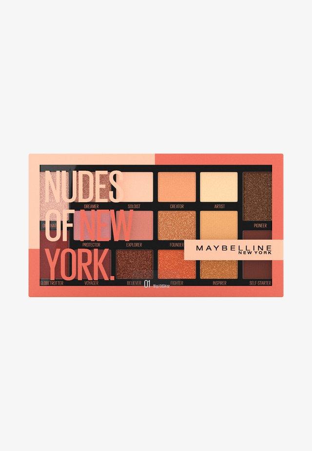 NUDES OF NEW YORK EYESHADOW PALETTE - Øjenskyggepalette - -