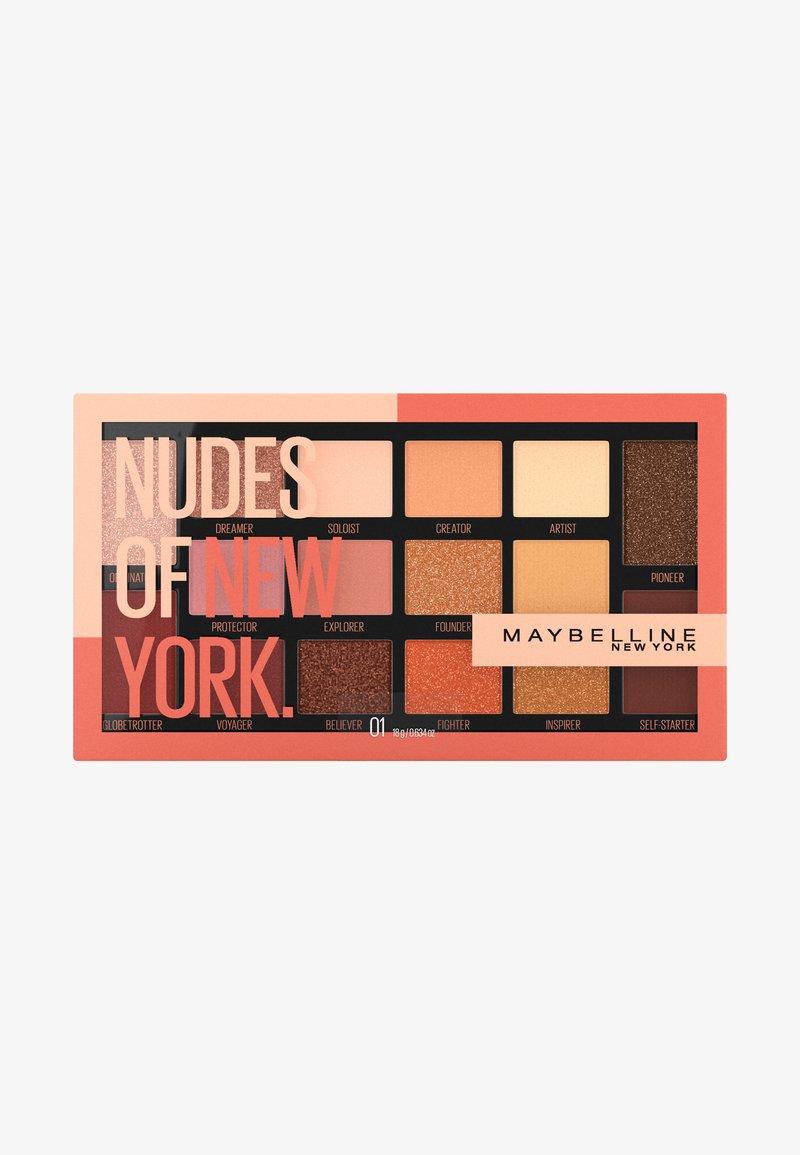 Maybelline New York - NUDES OF NEW YORK EYESHADOW PALETTE - Eyeshadow palette - -