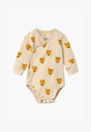 WRAP LEO FACES UNISEX - Body - light beige