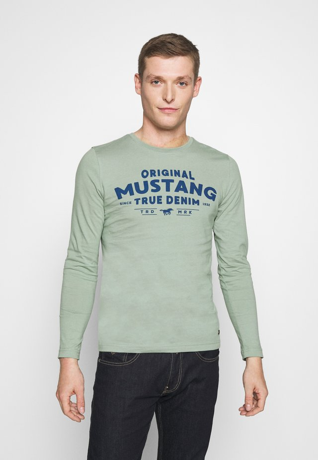 ALEX - Long sleeved top - green