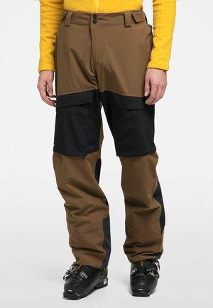 ELATION GTX PANT - Snow pants - teak brown/true black