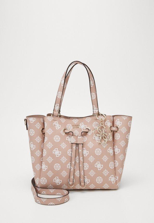 DIGITAL DRAWSTRING BAG - Handbag - rose