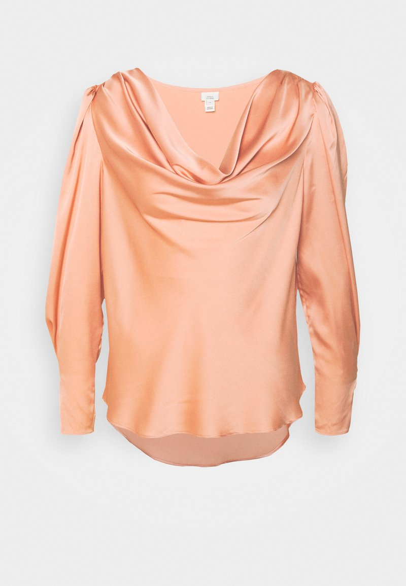 River Island - SAPPHIRE COWL NECK - Blouse - pink