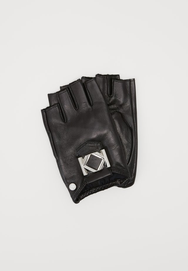 MISS K GLOVE - Rukavice bez prstů - black