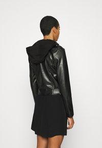 Calvin Klein Jeans - JACKET - Bunda zumělé kůže - black - 2