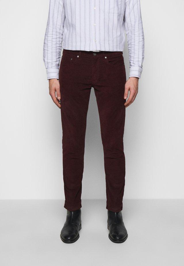 PANTS - Pantalon classique - ripe plum