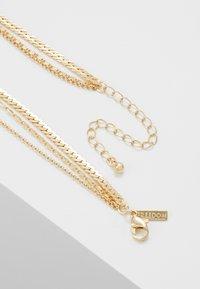 Topshop - COIN CROSS - Halskette - gold-coloured - 2