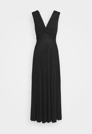 ABITO LUNGO SENZA MANICHE - Vestido de punto - black