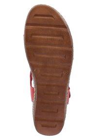 Andrea Conti - Walking sandals - rot - 3