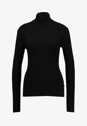 KIRSTEN TURTLENECK - Strikkegenser - black