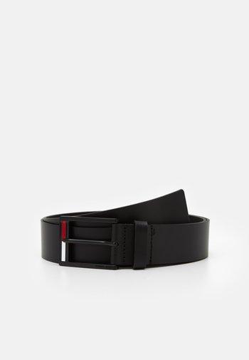 FLAG INLAY - Belt - black